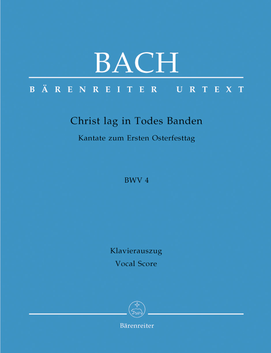 Cantata No.4 Christ lag in Todes Banden (BWV 4) (Vocal Score)