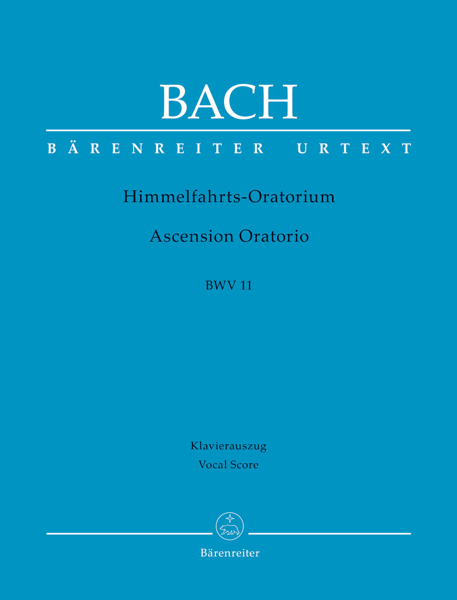 Ascension Oratorio (BWV 11) (Vocal Score)