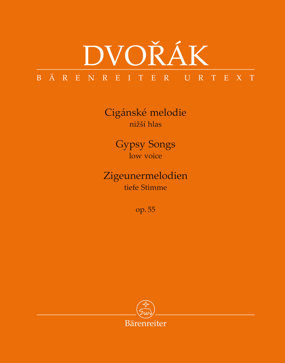 Gypsy Songs Op.55 (Low Voice & Piano)