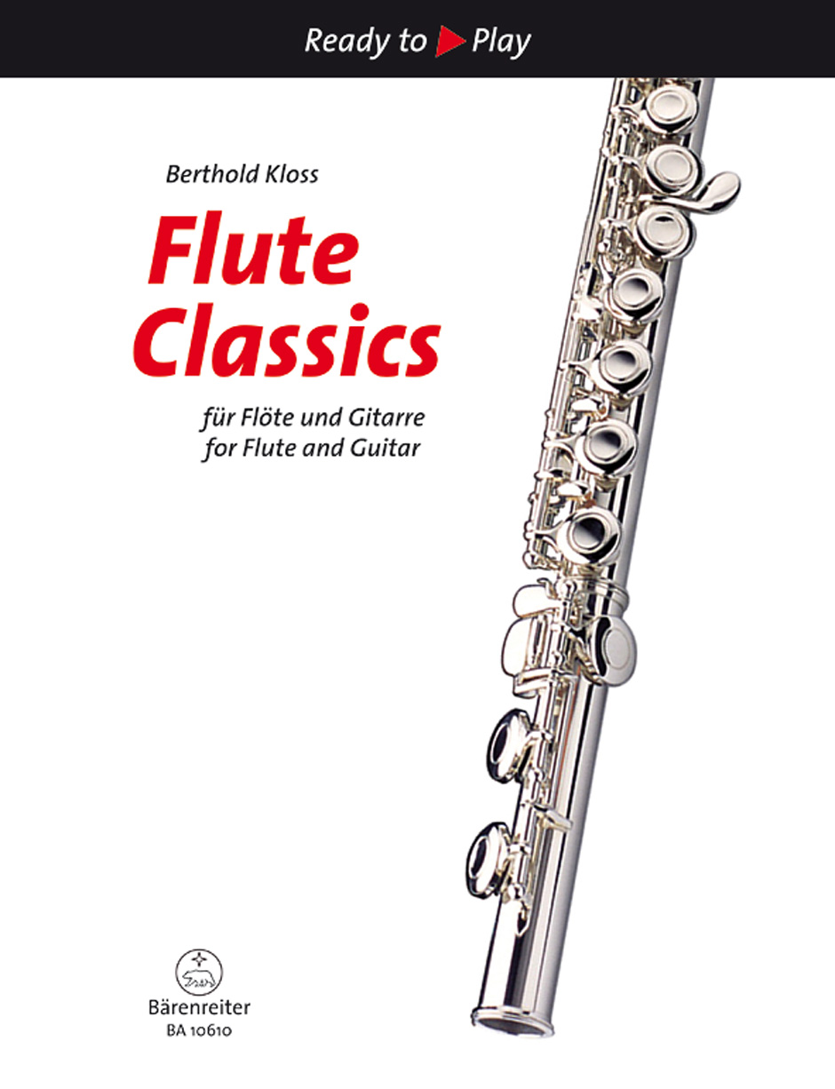 Flute Classics for Flute and Guitar (2 Playing Scores)