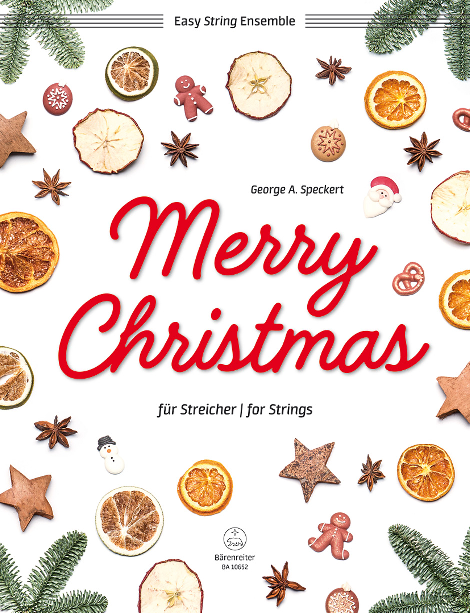 Merry Christmas for Strings (Score & Parts)