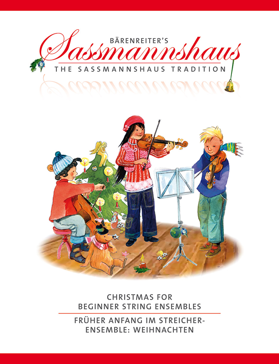 Christmas for Beginner String Ensembles (Playing Score)