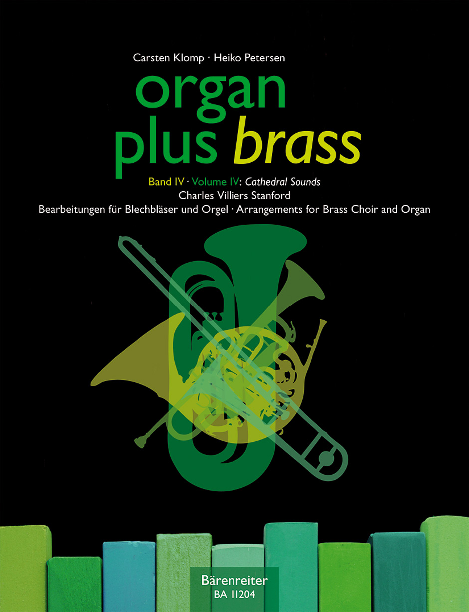 organ plus brass, Volume IV Cathedral Sounds (Organ Score with Wind Score in C)