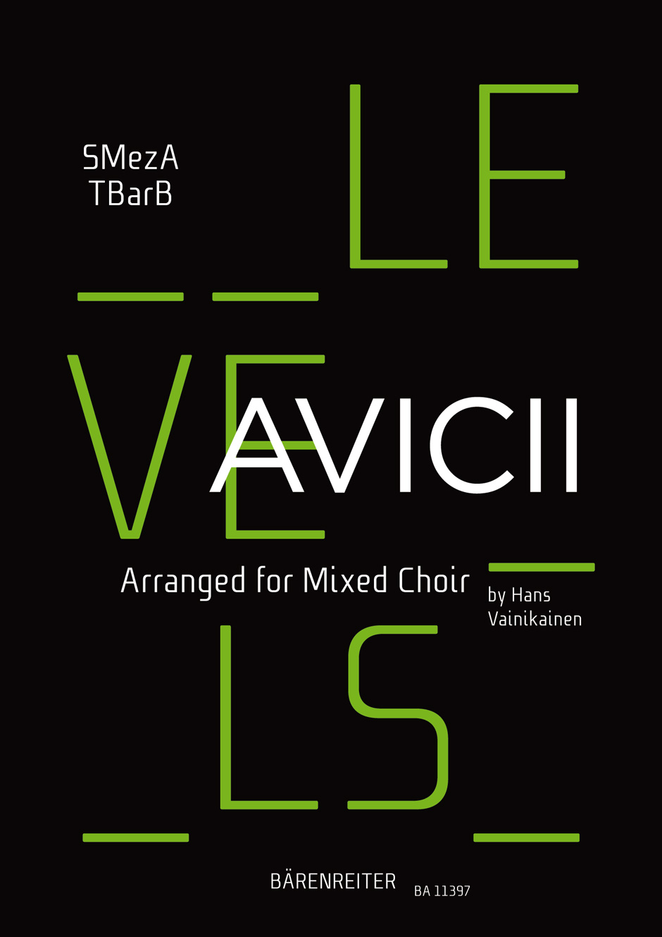 Levels. Arranged for Mixed Choir (SMezATBarB)