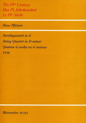 String Quartet No.1 in D minor (Parts)
