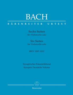 Six Suites for Violoncello solo (BWV 1007-1012) (Synoptic Facsimile Volume)