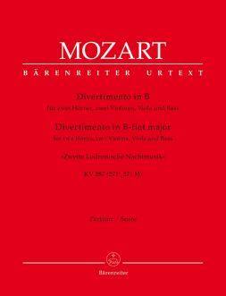 Divertimento in B-flat major K.287 (Full Score)