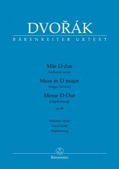 Mass in D major Op.86 Organ Version (Vocal Score)