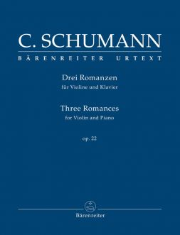 Three Romances for Violin & Piano Op.22