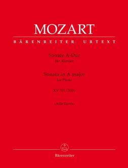 Piano Sonata in A major (K.331) with the Rondo Alla Turca