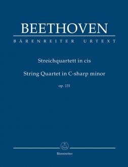 String Quartet in C-sharp minor Op131 (Study Score)