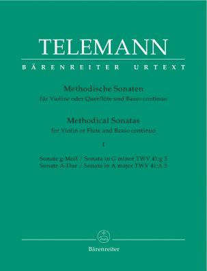 Methodical Sonatas for Violin (Flute) and Bc: Volume 1