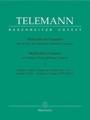 Methodical Sonatas for Violin (Flute) and Bc: Volume 2