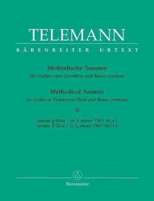 Methodical Sonatas for Violin (Flute) and Bc: Volume 3
