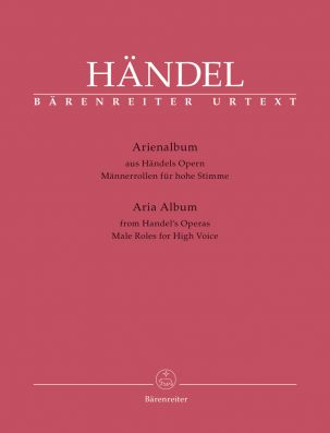 Aria Album from Handel's Operas. Male Roles for High Voice