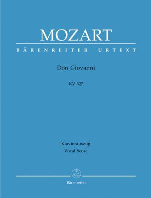 Don Giovanni (K.527) (Vocal Score, hardback)