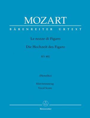 Le nozze di Figaro (The Marriage of Figaro) (K.492) (Vocal Score, hardback)