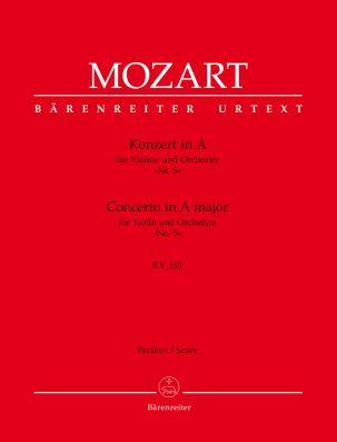 Concerto for Violin No.5 in A major (K.219) (Full Score)