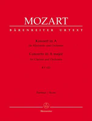 Concerto for Clarinet in A major (K.622) (Full Score)