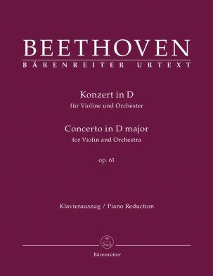 Concerto for Violin in D major Op.61 (Violin & Piano)