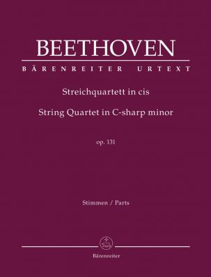 String Quartet in C-sharp minor Op.131 (Parts)