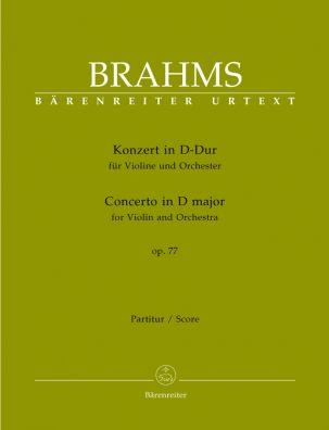Concerto for Violin in D major Op.77 (Full Score)