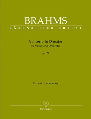 Concerto for Violin in D major Op.77 (Critical Commentary)