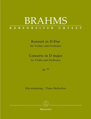 Concerto for Violin in D major Op.77 (Violin & Piano)