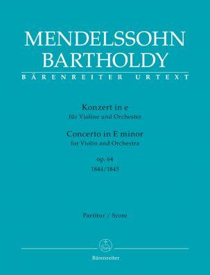 Concerto for Violin in E minor Op.64 (Full Score)