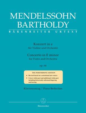 Concerto for Violin in E minor Op.64 Late (popular) version (Violin & Piano)