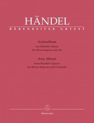 Aria Album from Handel's Operas. Mezzo-Soprano and Contralto