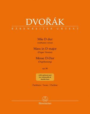 Mass in D major Op.86 Organ Version (Full Score)