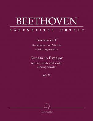Sonata for Piano and Violin in F major Op.24 Spring Sonata