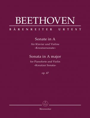 Sonata for Piano and Violin in A major Op.47 Kreutzer Sonata