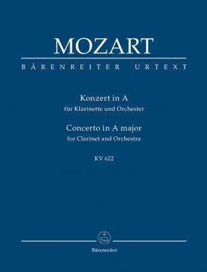 Concerto for Clarinet in A major (K.622) (Study Score)