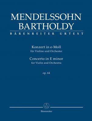 Concerto for Violin in E minor Op.64 (Study Score)