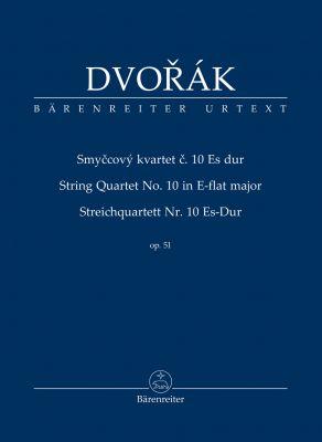 String Quartet No.10 in E-flat major Op.51 (Study Score)