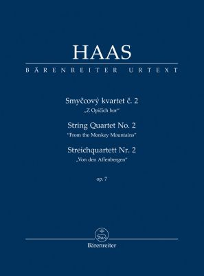 String Quartet No.2 Op.7 (From the Monkey Mountains) (Study Score)