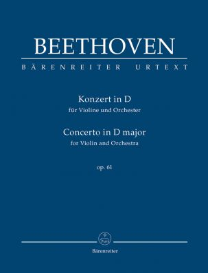 Concerto for Violin in D major Op.61 (Study Score)