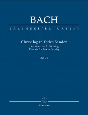 Cantata No.4 Christ lag in Todes Banden (BWV 4) (Study Score)