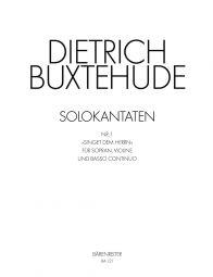 Singet dem Herrn (BuxWV 98) (Score & Parts)