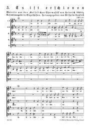 Sacred Choral Music 1648, No. 3: Es ist erschienen (SWV 371)