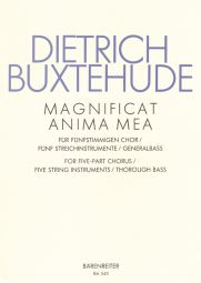 Magnificat anima mea (BuxWV-Anh 1) (Score & Parts)