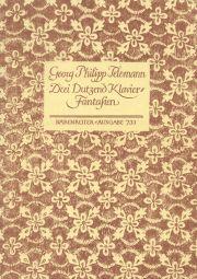 Three Dozen Piano Fantasias (TWV 33:1-36)