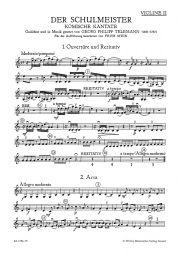 Der Schulmeister (Violin II)
