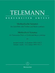 Methodical Sonatas for Violin (Flute) and Bc: Volume 4