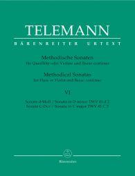 Methodical Sonatas for Violin (Flute) and Bc: Volume 6