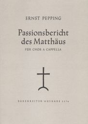 Passionsbericht des Matthäus (St Matthew Passion)