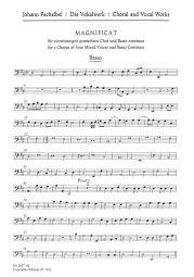 Magnificat (Basso continuo/Cello)