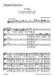 Psalm 117 Laudate Jehovam (Choral Score)